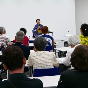 9月11日、金沢でのイベントの様子が北陸中日新聞で紹介されました。